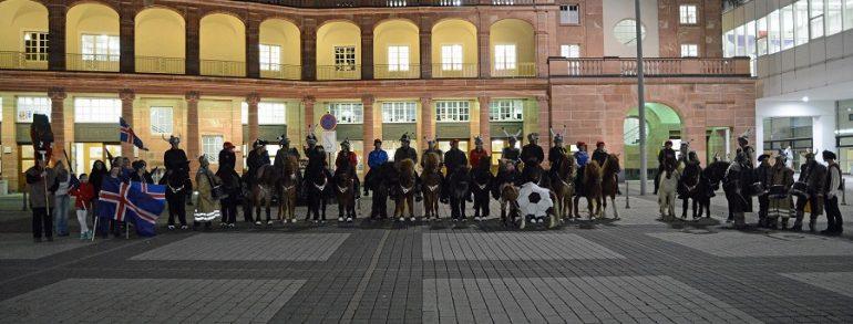 Showwettkampf der Vereine in der Frankfurter Festhalle